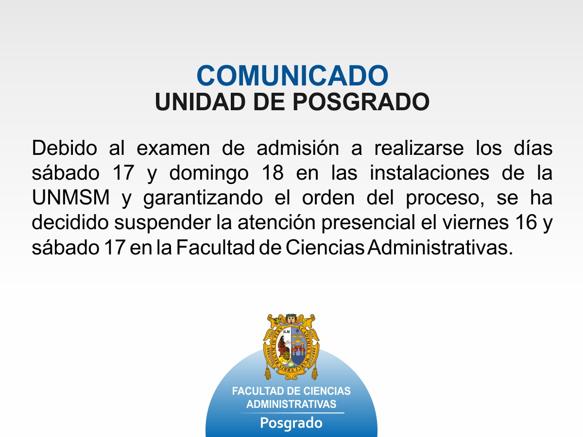 comunicado sups atencion